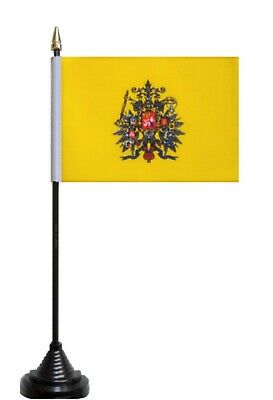 Russia Imperial Standard 1858 to 1917 Polyester Table Flag