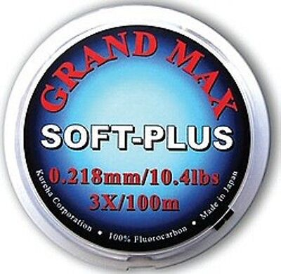 Riverge NEW Grand Max Soft Plus Fluorocarbon for Fly Fishing and Carp Fishing