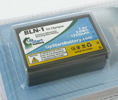 BLN1 Decoded Battery for Olympus OM-D Series EM-5 Digital Camera