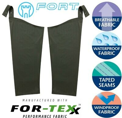 FORTRESS FORTEX AIRFLEX Waterproof Windproof Breathable LEGGINGS for TROUSERS