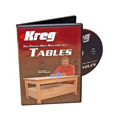 Kreg V05-DVD Pocket Hole Joinery DVD Building Tables