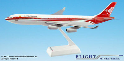 Flight Miniatures Air Lanka 1979 Airbus A340-300 1:200 Scale SriLankan Airlines