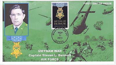 Jvc Cachets - 2013 Medal Of Honor Military War  Issue First Day Cover Fdc #5