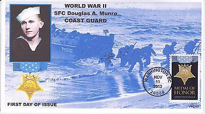 Jvc Cachets - 2013 Medal Of Honor Military War  Issue First Day Cover Fdc #3