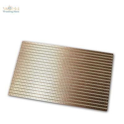 Copper Circuit Board 160x100mm, Stripe Raster RM 5,08mm, Board, Pcb