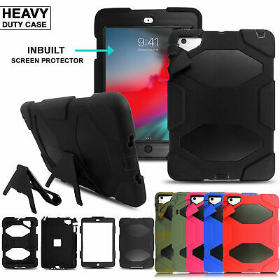 Tough Shockproof Armour Heavy Duty Rugged Stand Case Cover For iPad Tablet Phone