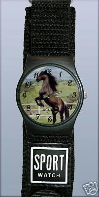 Montre  Sport  cadran CHEVAL  - Watch with HORSE