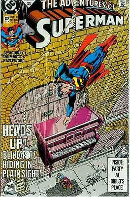 Adventures of Superman # 483 (USA, 1991)