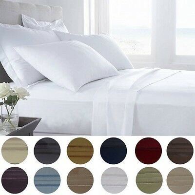 Presidential Collection 1800 Series Egyptian Comfort 6 PC Sheet Set in 12 Colors