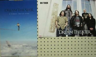 DREAM THEATER 2011 ...TURN OF EVENTS 2 SIDED PROMOTIONAL POSTER ~NEW old stock~!