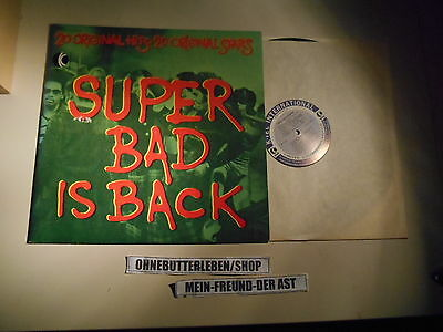 LP VA Super Bad Is Back (20 Song) K-TEL USA Manhattans Bill Withers Chi-Lites