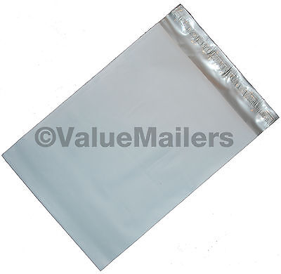 400 Poly Mailers Envelopes 12X16 Self Seal Plastic Bags Matte Finish 2.7 Mil