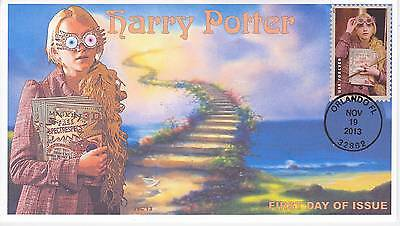 Jvc Cachets -2013 Harry Potter First Day Cover Fdc Topical Wizards Fantasy #14