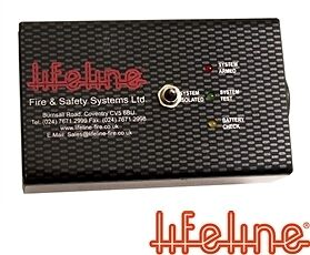 LIFELINE Power Pack - Zero 360 Remote Systems Extinguisher Parts