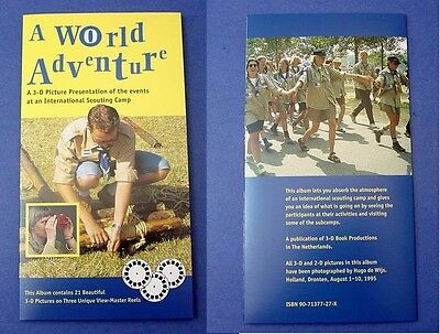 World of Adventure 18th World Scout Jamboree 1995 - 3 View-Master reels