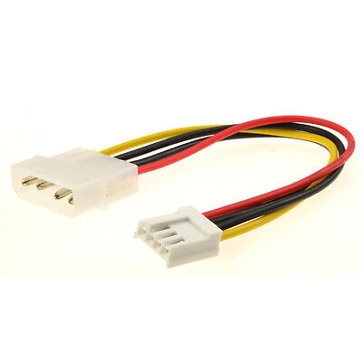 Power Converter Adapter Cable 4 pin LP4 Molex Plug to 4 pin Female [000331]