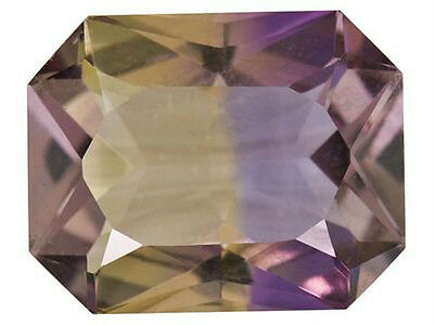 IF ~ 2.91 CT ~ Ametrine Purple & Yellow ~ Octagon ~  Natural Gemstone