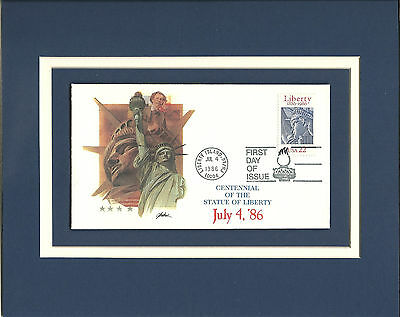 Statue of Liberty Centennial 1st Day Cover STATUE OF LIBERTY Centennial Stamp