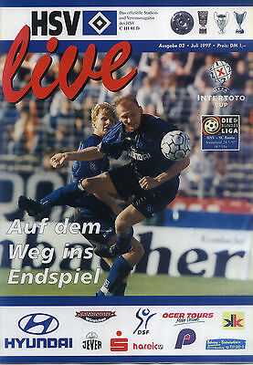 UI-Cup 26.07.1997 Hamburger SV - SC Bastia, InterToto Cup