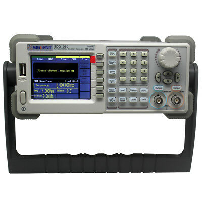 Siglent wareform function Generator Counter SDG1025 2chs 25Mhz 125MSa/s AWG UK