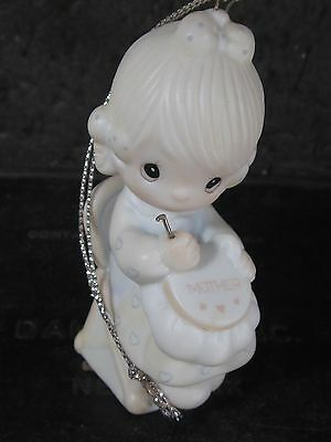Precious Moments Ornament MOTHER SEW DEAR E0514 MIB