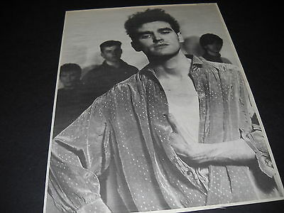 MORRISSEY dynamic retro style black/white 1994 PROMO DISPLAY AD mint cond