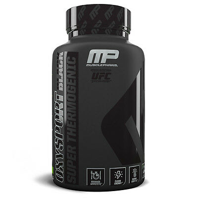 Muscle Pharm OXYSPORT Black Super Thermogenic Weight Loss Support (120 Capsules)