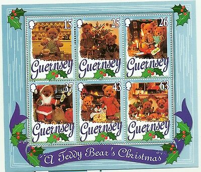 NATALE - CHRISTMAS GUERNSEY 1997 block