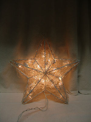 CHRISTMAS LARGE LIGHTED TWINKLE STAR FOR NATIVITY  FREE SHIPPING