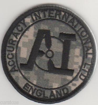 ACCURACY INTERNATIONAL subdued PATCH. FREE SHIPPING