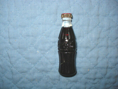 Vintage Coca Cola Bottle Cigarette Lighter, Circa 1940's, Works.
