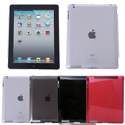 Crystal Clear Hard Back Case Skin Cover Protector for Apple iPad Retina 2 3 4