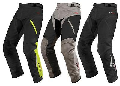 Alpinestars Mens Andes Textile Drystar Motorcycle Pants short and regular leg