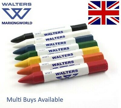 Crayons Wax Marker, Wood Timber, Metal, Lumber, Road Marking, Walters WWT Box 12