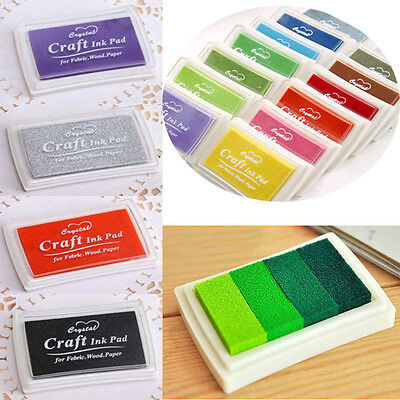 Children Kid's Washable Ink Pad for Paper Craft/Scrapbooking/Card Making Stamp