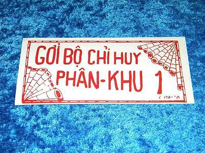 Vietnam War 1970 Authentic & Original Chieu Hoi Leaflet Only $14.95 Free S/h