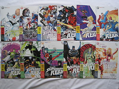 SUPERMAN 's REIGN. COMPLETE 12 PART TANGENT SERIES by DAN JURGENS etc. 2008