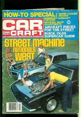 1983 Car Craft: Street Machine Nationals/ Buick/Olds Supercar Guide