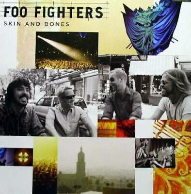 FOO FIGHTERS 2006 skin and bones 2 sided promotional poster ~MINT condition~!!!