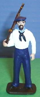 TOY SOLDIERS METAL AMERICAN CIVIL WAR UNION SAILOR 54MM