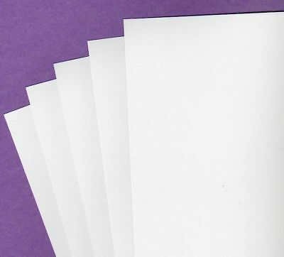 Cardboard White 270gsm Mohawk Opaque 20 x A4 Smooth Flat Heavy Card  297 x 210mm
