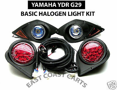 Yamaha G29 YDR Drive Golf Cart 2007'-up Halogen LIGHT KIT with LED Taillights