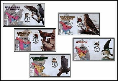 2012 USPS Birds of Prey First Day of Issue Set-NEW