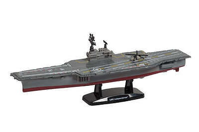 USS Independence CV-62 Aircraft Carrier 1:1425 Scale Diecast w/ Helicopter Mint