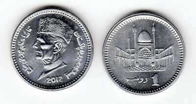 Pakistan 2012 1 Rupee Uncirculated (KM67)