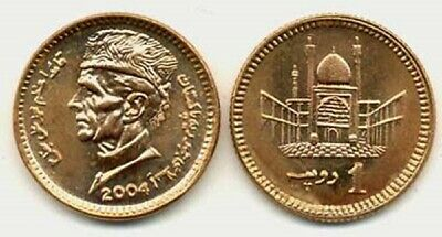 Pakistan 2004 1 Rupee Uncirculated (KM62)
