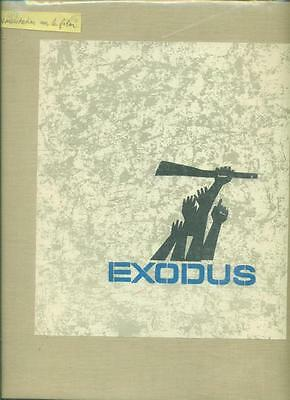 CINEMA DOCUMENTATION RARE sur le film EXODUS d'Otto PREMINGER