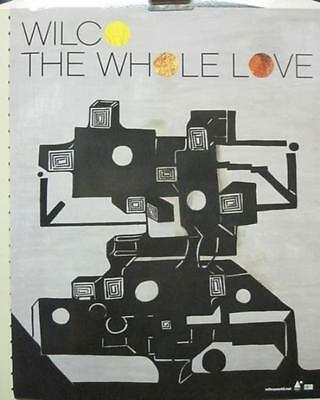 "Wilco 2011 The Whole Love ""cover"" Promotional Poster ~New~!!"