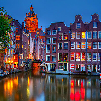 Amsterdam Weekend - 1n @ 4* Marriott Airport Hotel, Holland Netherlands Holiday