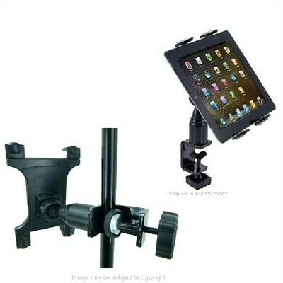 Heavy Duty Secure Table / Desk / Music Mic Stand Holder Mount for Apple iPad AIR